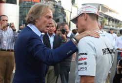 "Montezemolo sobre Schumacher: ""Sigo creyendo en un milagro"""
