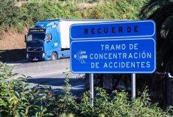 Por tercera vez consecutiva, la N-320 es la carretera más peligrosa de España