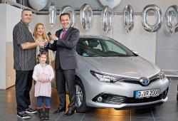 Suma y sigue, un millón de Toyotas híbridos circulan por Europa