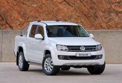 Argentina - Noviembre 2015: El Volkswagen Amarok pisa el podio