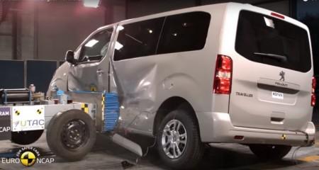 Cinco estrellas EuroNCAP las furgonetas de PSA y Toyota