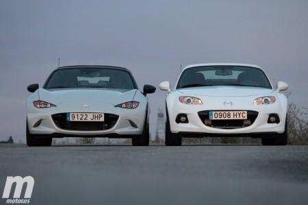 Comparativa Mazda MX-5 2015 vs MX-5 2014