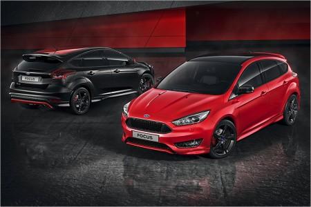 Ford Focus Red Edition y Black Edition, deportividad atrevida en rojo y negro