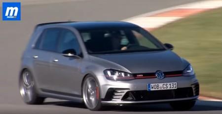 Volkswagen Golf GTI Clubsport, así suena su motor en circuito