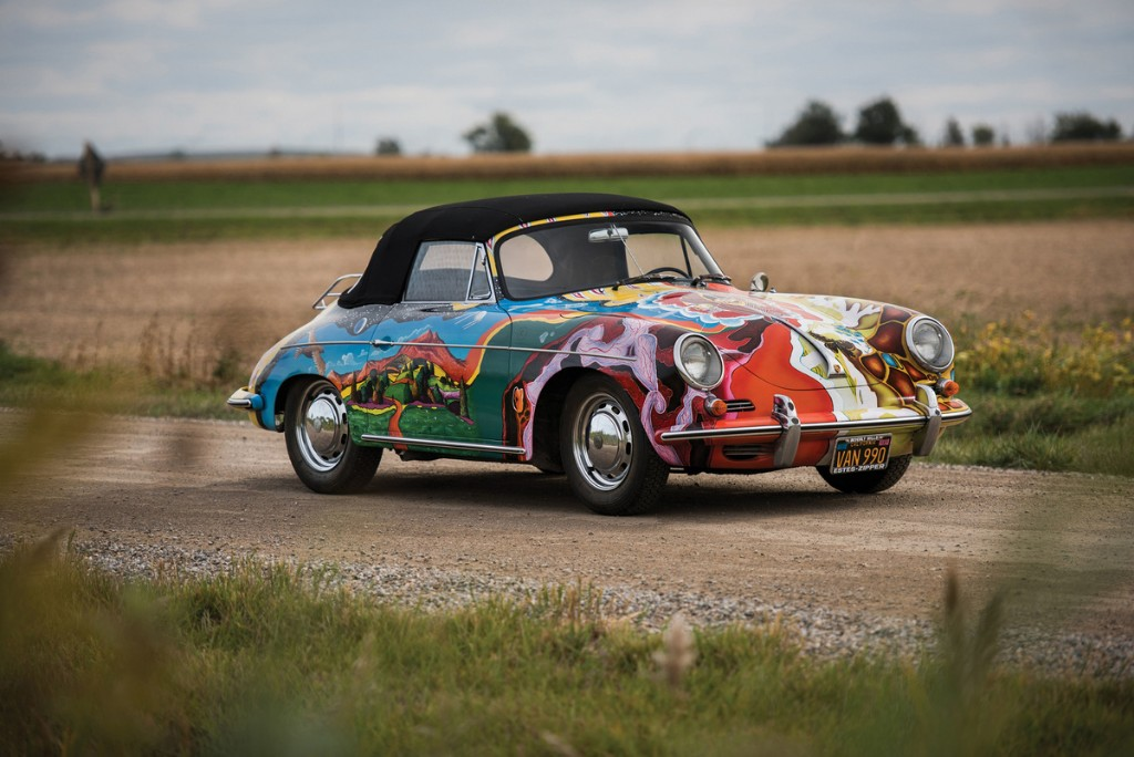 El Porsche 356 de Janis Joplin, subastado por más de millón y medio de euros