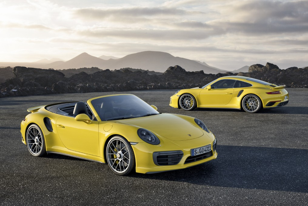 Porsche 911 Turbo y Porsche 911 Turbo S 2016, conoce toda su información