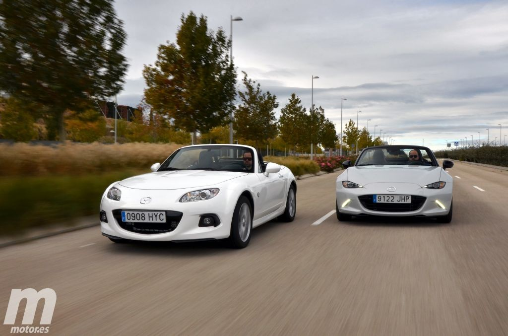 Mazda MX-5 ND vs NC. Prueba y conclusiones