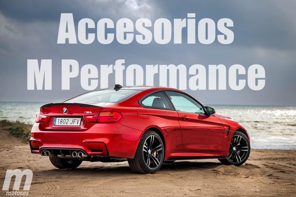 Estos son los accesorios de nuestro BMW M4 M Performance