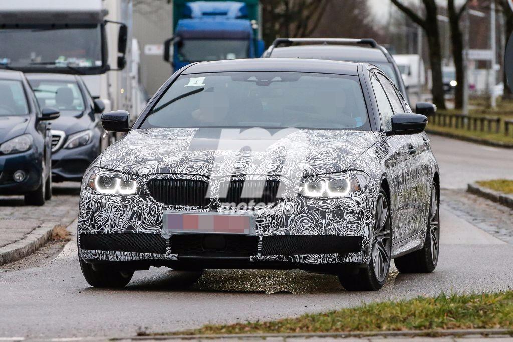 El BMW Serie 5 2017 se pasea con su carrocería final