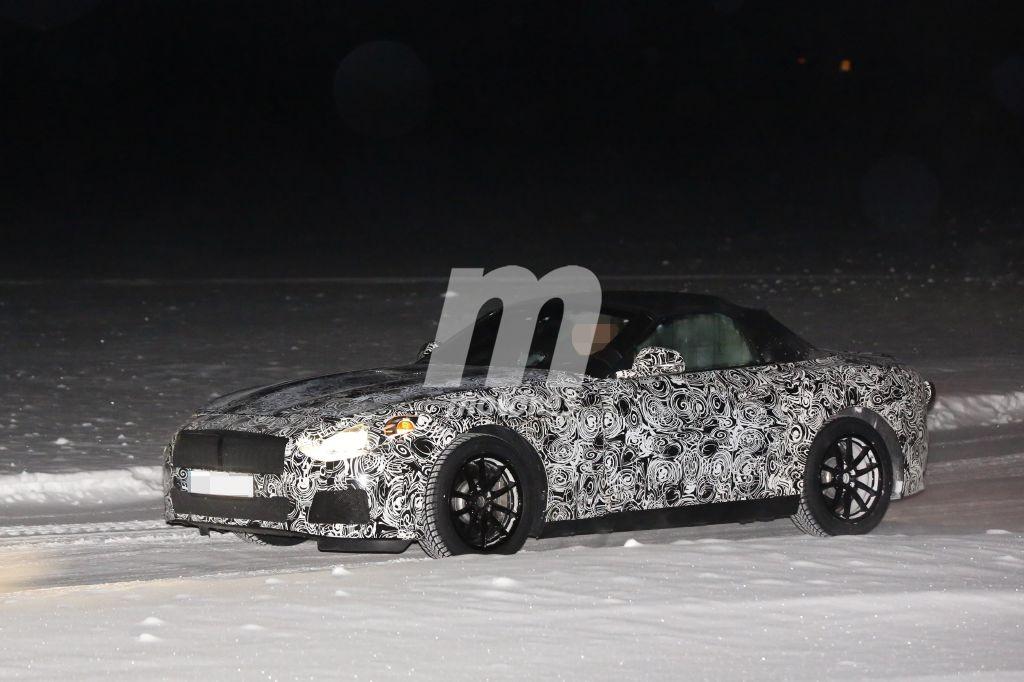 BMW Z5 2018 Roadster, primeras fotos espía