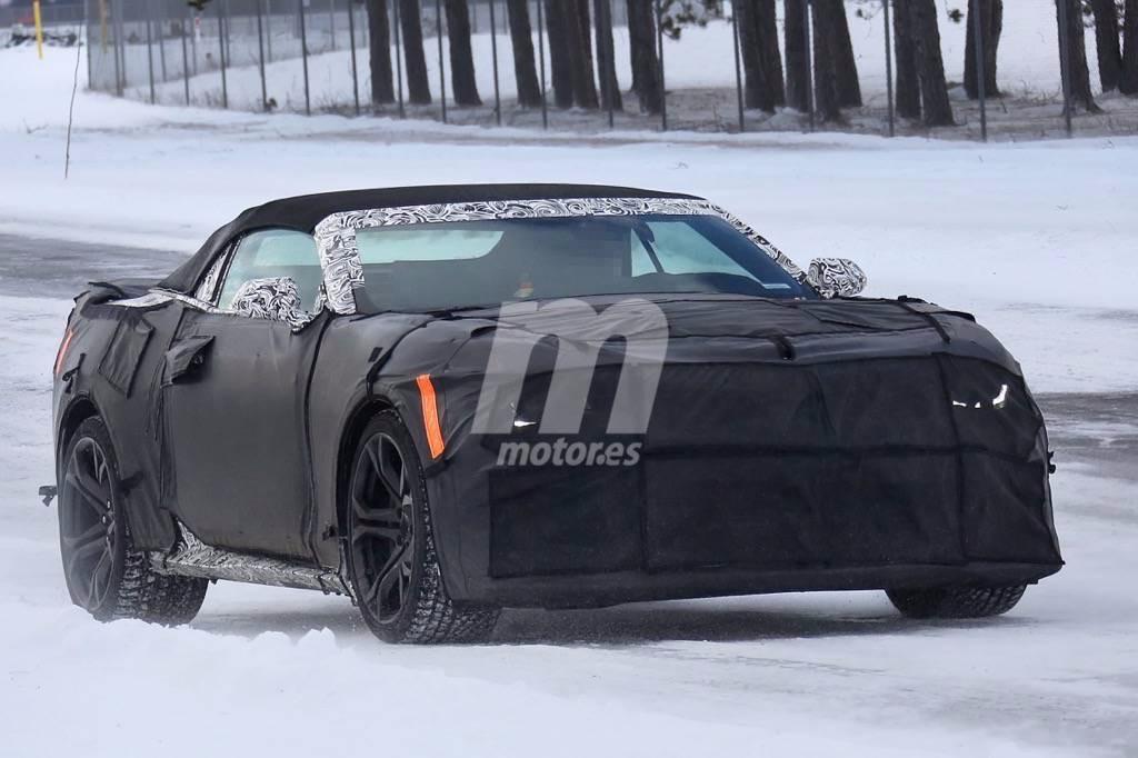 Chevrolet Camaro ZL1 Convertible 2017, primeras imágenes espía