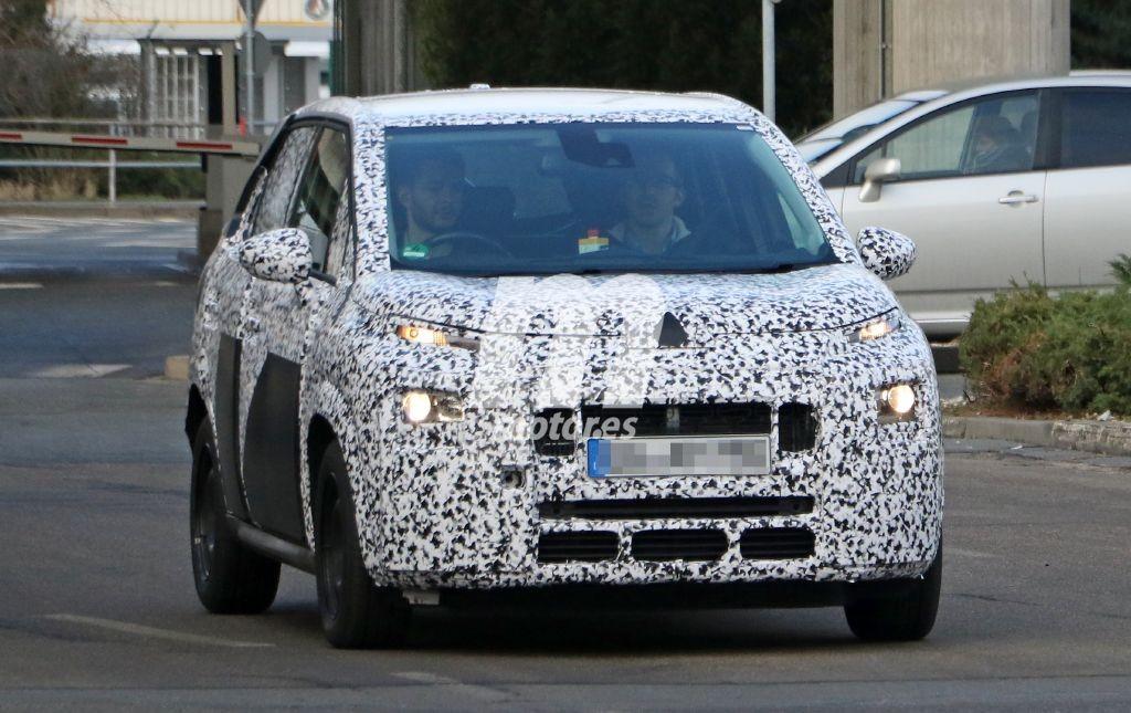 Citroën C3 Picasso 2017, en sus primeras fotos espía