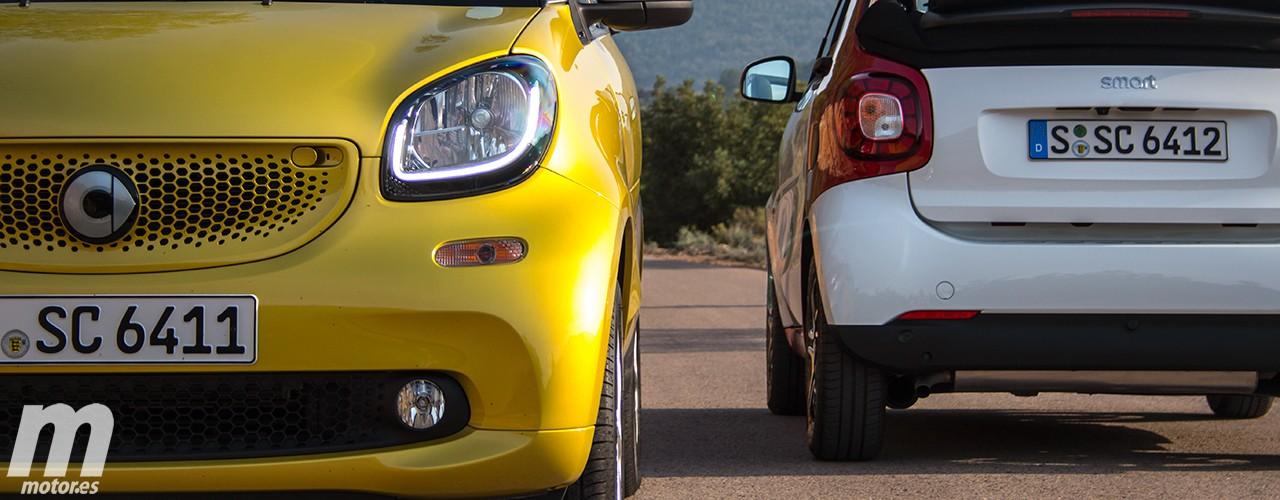 Prueba Smart Fortwo Cabrio 2016, la alegría de la ciudad