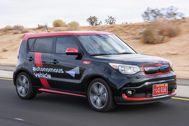 KIA Drive Wise, la submarca coreana de vehículos autónomos
