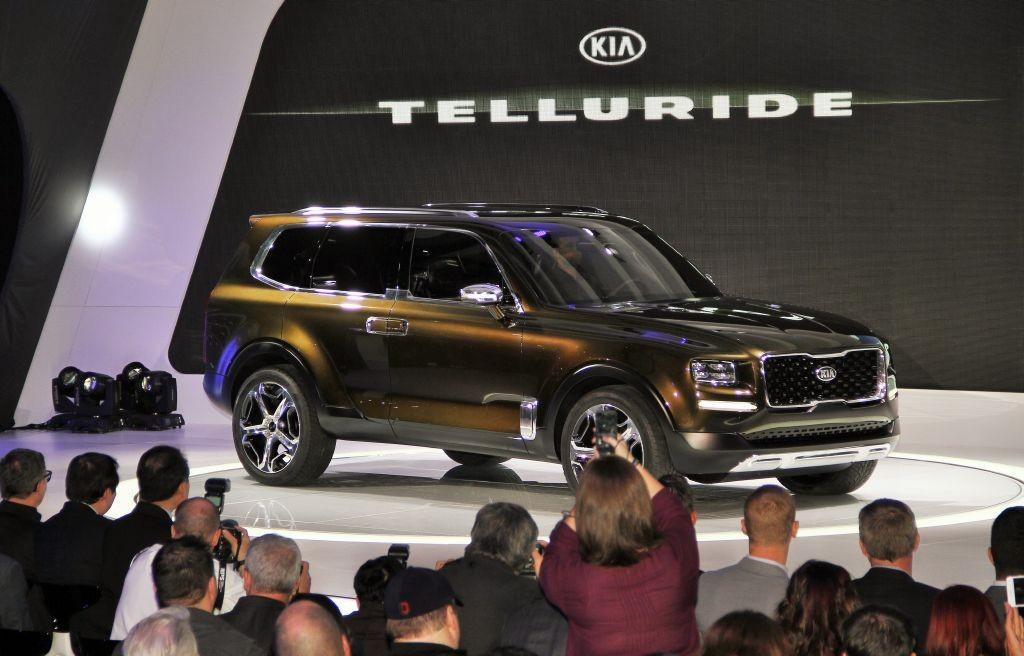Kia Telluride Concept, el SUV coreano más grande impresiona en Detroit