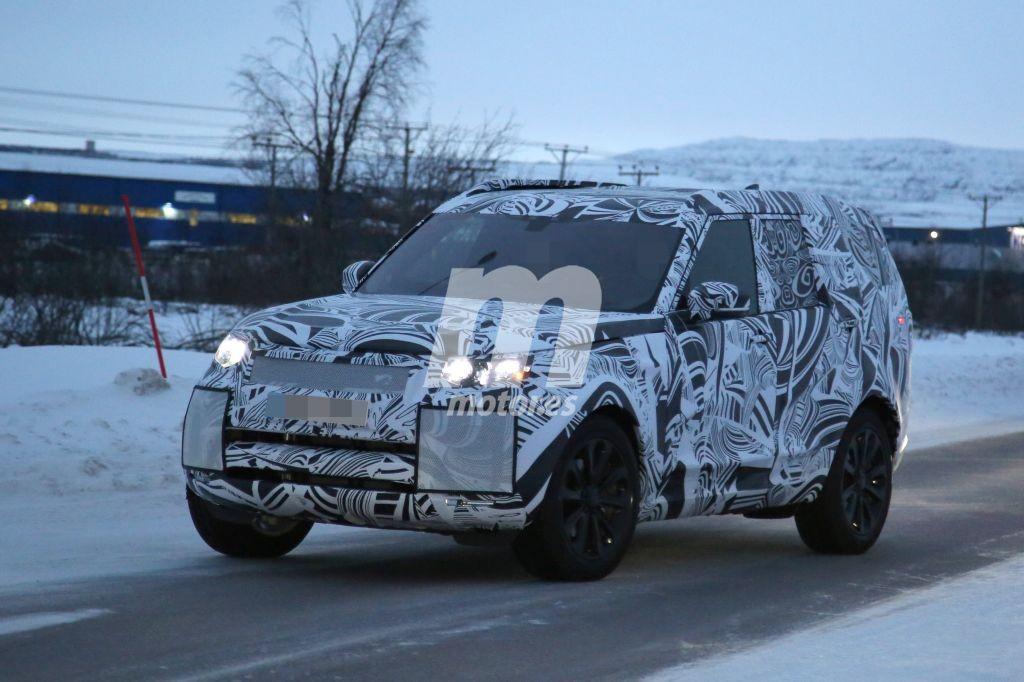 El Land Rover Discovery 2017 sigue preparándose de cara al año que viene