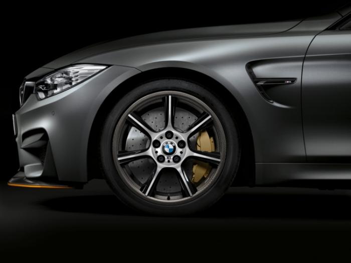 Estas son las llantas de fibra de carbono para el BMW M4 GTS