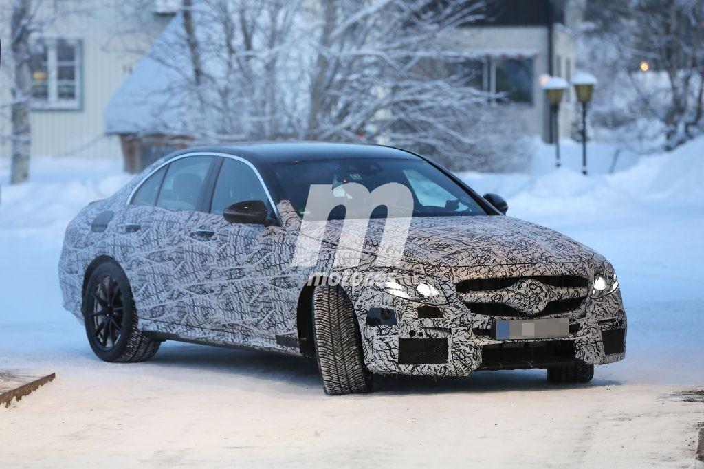 El Mercedes AMG E63 2016 descubierto en sus pruebas invernales