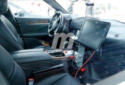 El Maserati Levante muestra su interior por primera vez