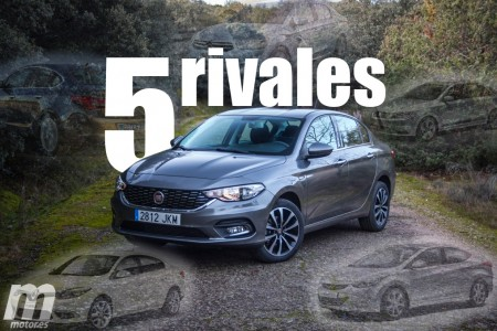 5 rivales para el Fiat Tipo