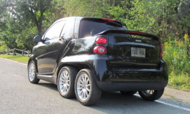 Smart ForTwo Pickup - posterior