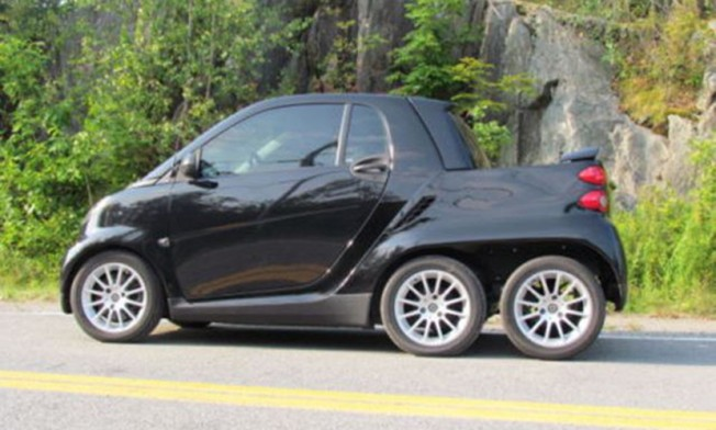 Smart ForTwo Pickup - lateral