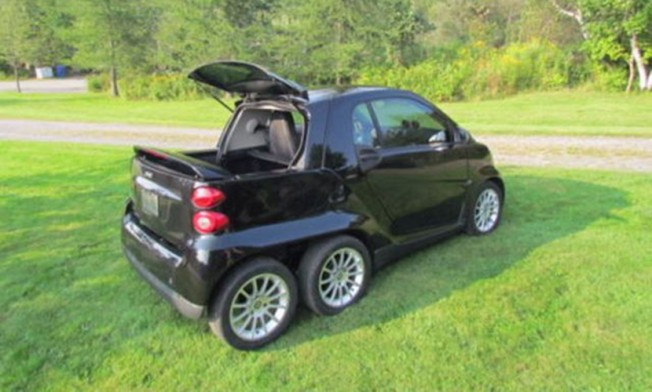 Smart ForTwo Pickup