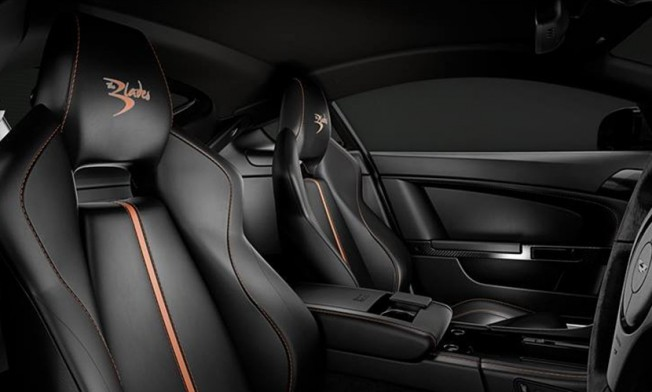 Aston Martin V8 Vantage S Blades Edition - interior