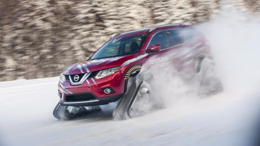 Nissan Rogue Warrior Concept, un guerrero de invierno
