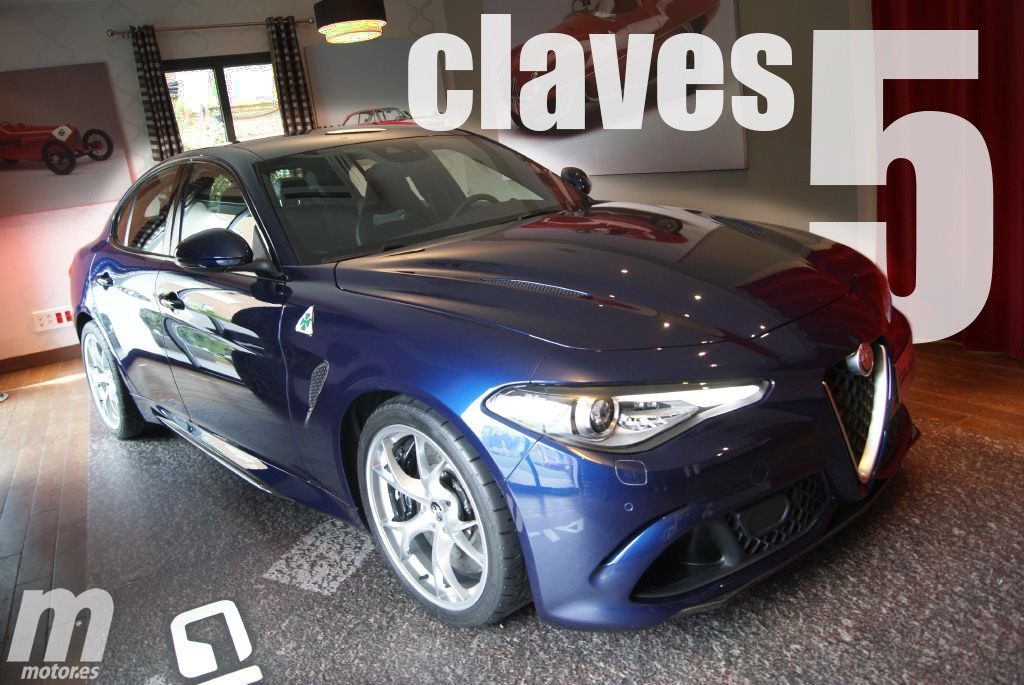 Las 5 Claves del Alfa Romeo Giulia QV