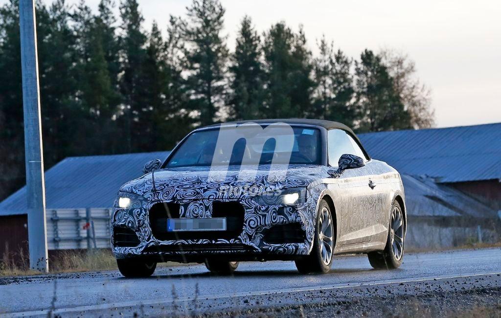 Audi A5 Cabrio 2017, nuevas fotos espía