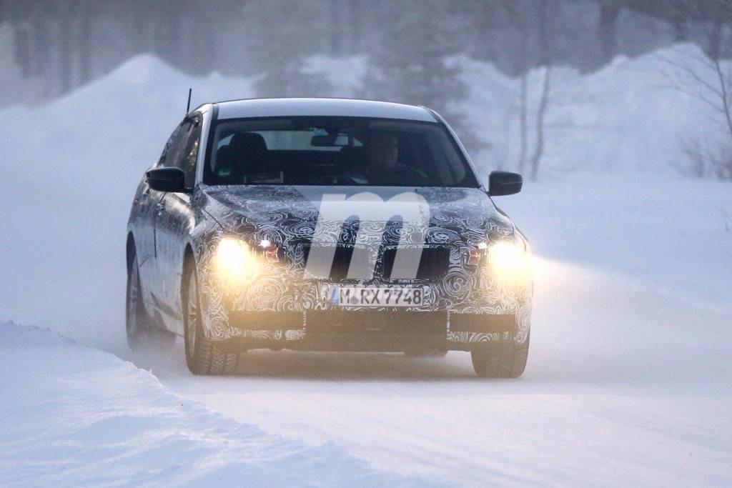 El BMW Serie 5 GT sigue poniéndose a punto en el frío y la nieve
