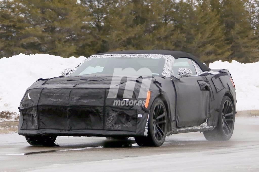 Chevrolet Camaro ZL1 Cabrio 2017, cazado por segunda vez