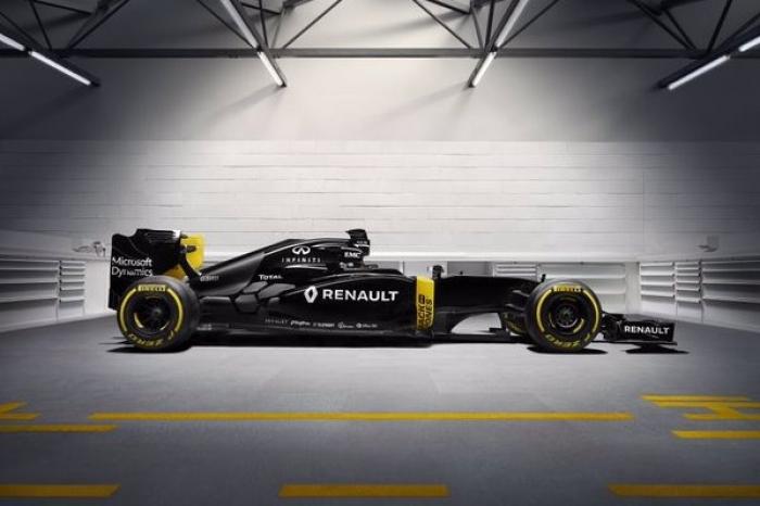 Presentado el Renault Sport F1 Team y una simulación del RS16