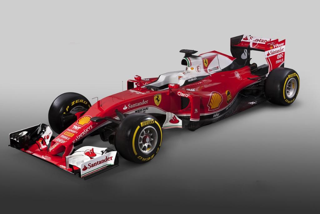 Ferrari presenta el SF16-H, el 'caza Mercedes' de Maranello