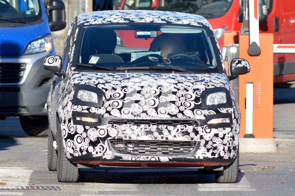Fiat Panda 2017 facelift ¡Cazado!
