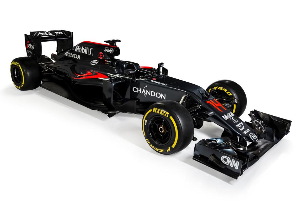 Desvelado el McLaren MP4-31 de Fernando Alonso