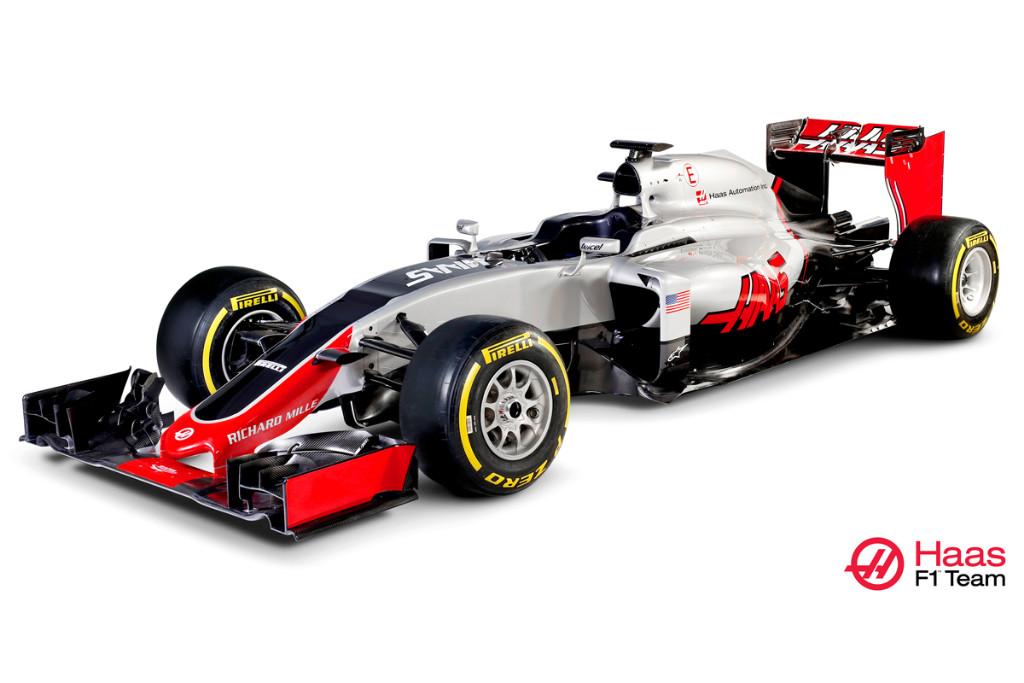 Haas F1 presenta el VF-16, el monoplaza de su debut en F1