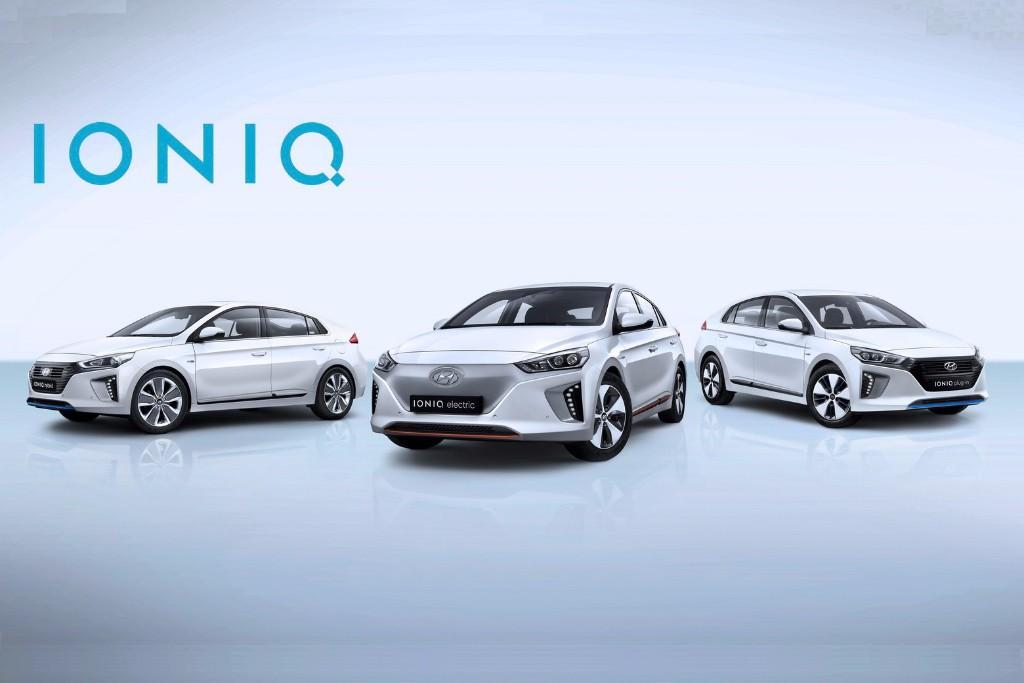 Hyundai desvela características de la gama IONIQ para Europa