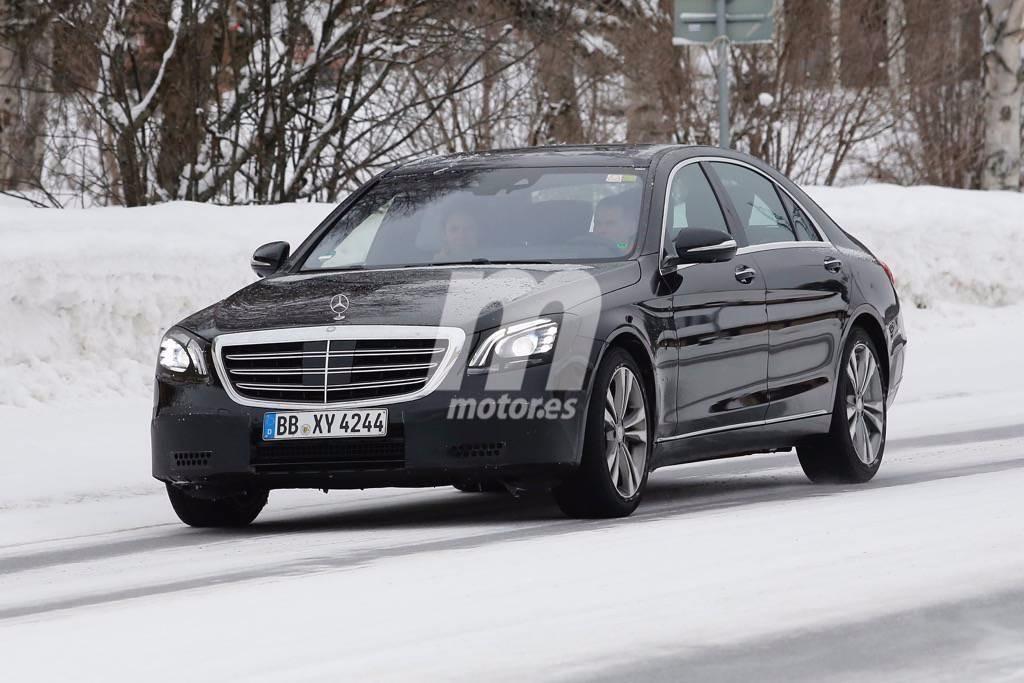 Nuevas fotos espía del Mercedes Clase S facelift