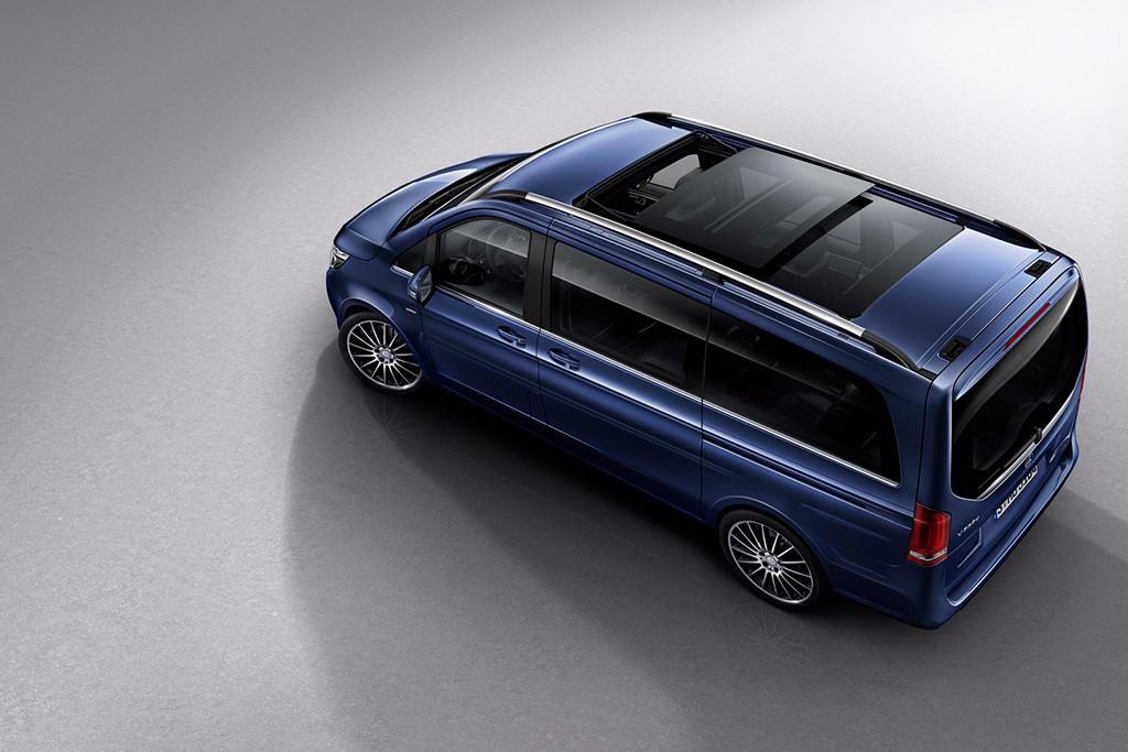 Nuevo acabado Exclusive para la Mercedes Clase V, atención al lujo