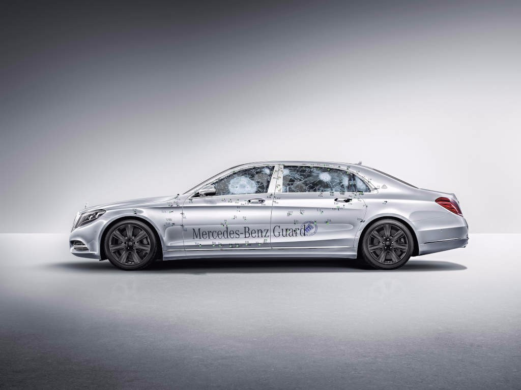 Mercedes-Maybach S600 Guard, la berlina más blindada del mundo