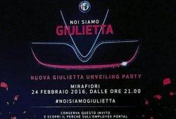 Nuevo Alfa Giulietta, su presentación tendrá lugar el 24 de febrero