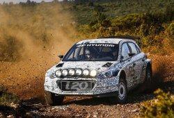 El Hyundai i20 R5 es la cara, el Toyota i20 WRC la cruz