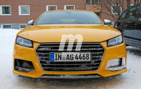 Cazado el Audi TT RS 2016, su interior al descubierto