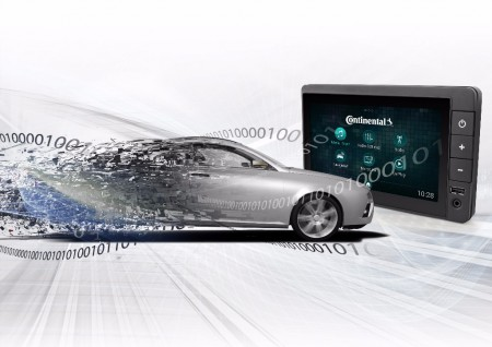 Continental presenta una nueva plataforma de audio para el coche