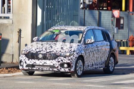 Fiat Tipo SW 2017 ¡Cazado!