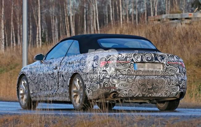 Audi A5 Cabrio 2017 foto espía