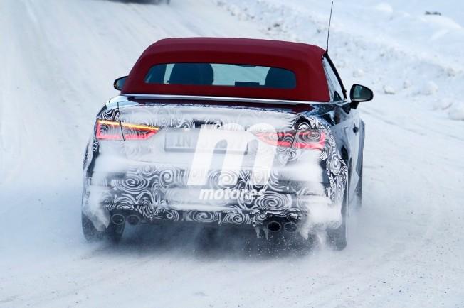 Audi S3 Cabrio 2017 - foto espía