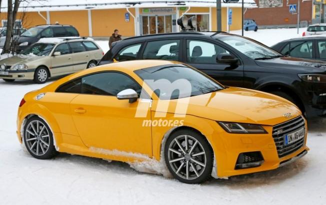 Audi TT RS 2016 - foto espía